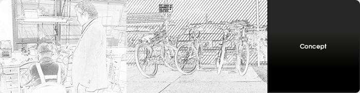 n.d.zが提案するサイクルファッション