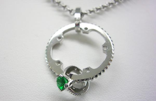 "Chain Ring Necklace Type2 ""クレオパトラ"""