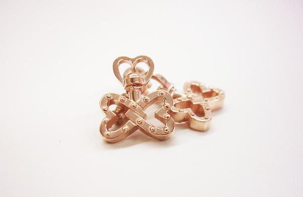 Pedale Pierced Earrings 〜バタフライ〜 P.G