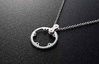 CHAIN RING Necklace TYPE 1