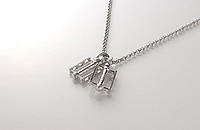 TWO PEDALE NECKLACE 画像