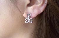 Pedale Pierced Earrings~バタフライ~ 画像