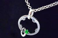 "Chain Ring Necklace Type2 ""クレオパトラ"" 画像"